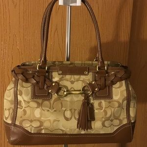 "AUTHENTIC ""PRE-LOVED"" COACH PURSE"